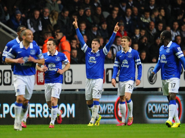 Result: Everton ease past Newcastle