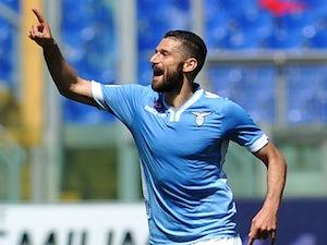 Half-Time Report: Candreva fires Lazio ahead