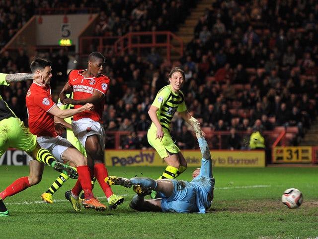 Result: Sordell trebles inspires Charlton