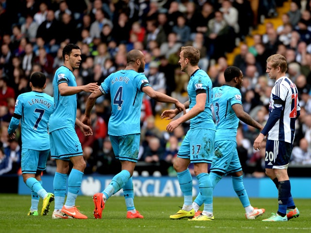Result: Spurs snatch late draw