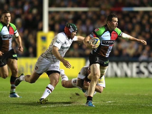 Result: Quins narrowly beat Leicester