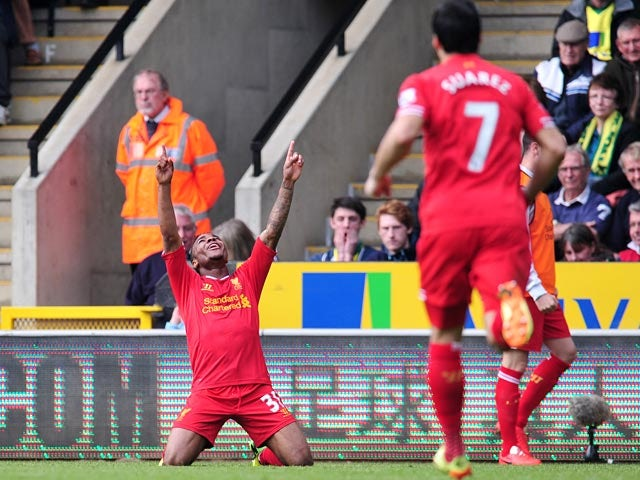 Result: Liverpool go five clear