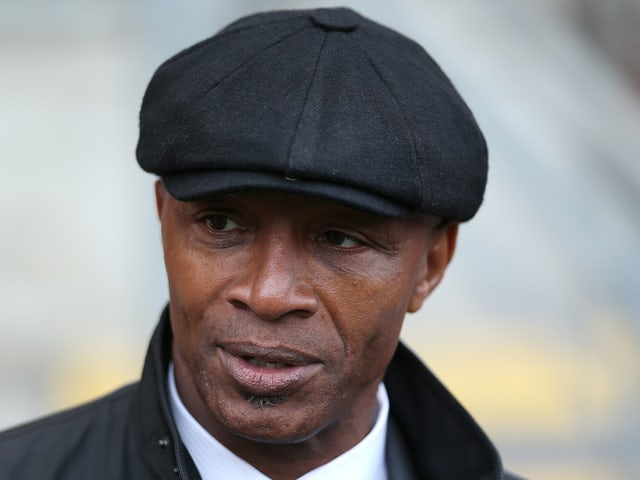 Cyrille Regis in attendance during the Sky Bet League One match between Leyton Orient and MK Dons at The Matchroom Stadium on October 12, 2013