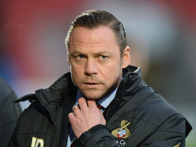 Paul Dickov, manager of Doncaster Rovers during the FA Cup Third Round match between Doncaster Rovers and Stevenage at the Keepmoat Stadium on January 4, 2014