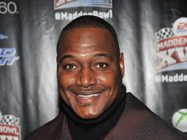 Former NFL player Derrick Brooks attends EA SPORTS Madden Bowl kicks off the Bud Light Hotel at the Bud Light Hotel on February 2, 2012