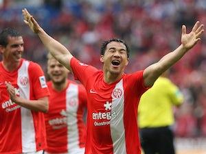 Result: Okazaki nets twice in Mainz triumph