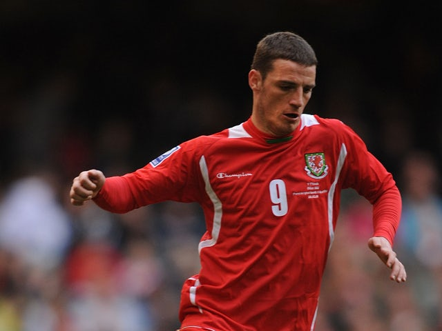 Jason Koumas of Wales in action during the FIFA 2010 World Cup Qualifier Group 4 match between Wales and Finland at the Millennium Stadium on March 28, 2009
