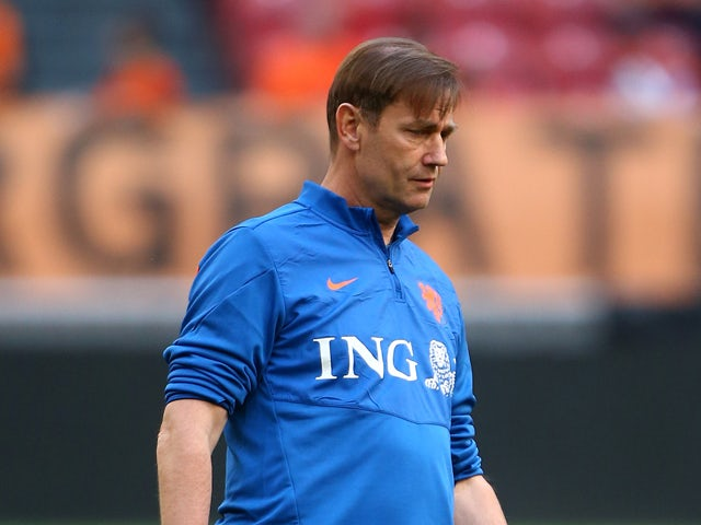 Holland goal keeping coach Frans Hoek during the International Friendly match between The Netherlands and Ecuador at The Amsterdam Arena on May 17, 2014