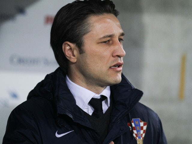Croatia coach Niko Kovac stands on the touchline on March 05, 2014.