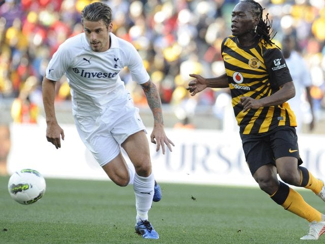 David Bentley in action for Tottenham Hotspur on July 11, 2011.