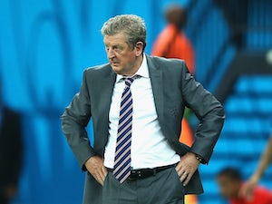 Manager Roy Hodgson of England looks on during the 2014 FIFA World Cup Brazil Group D match between England and Italy at Arena Amazonia on June 14, 2014