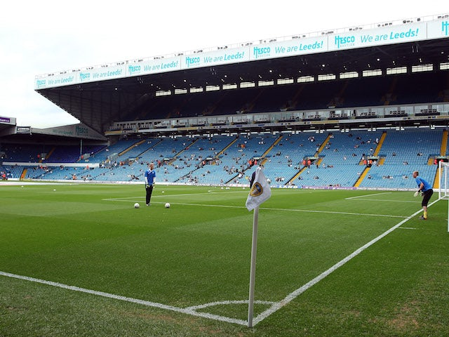 A general view of Elland Road Stadium during the Sky Bet Championship match between Leeds United and Sheffield Wednesday at Elland Road on August 17, 2013