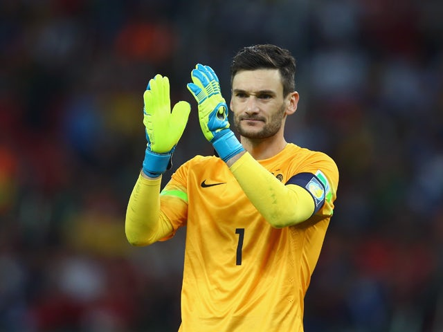 Hugo Lloris of France acknowledges the fans after defeating Honduras 3-0 during the 2014 FIFA World Cup Brazil Group E match between France and Honduras at Estadio Beira-Rio on June 15, 2014