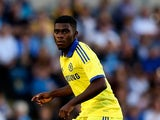 Jeremie Boga of Chelsea in action duing the pre season friendly match between Wycombe Wanderers and Chelsea at Adams Park on July 16, 2014