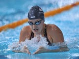 Molly Renshaw swims her way to bronze in the women's 200m breaststroke final on July 26, 2014