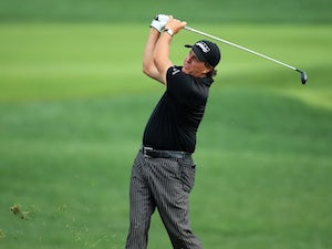 Phil Mickelson during the final round of the US PGA on August 10, 2014