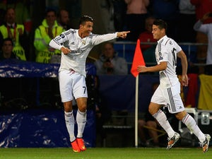 Rodriguez: 'I have a good relationship with Ronaldo'