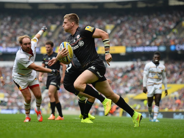 Result: Last-gasp try gives Saracens win