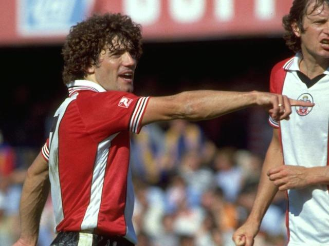 Southampton's Kevin Keegan in action on September 1, 1981