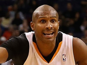 Leandro Barbosa #10 of the Phoenix Suns reacts during the NBA game against the Indiana Pacers at US Airways Center on January 22, 2014