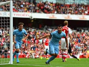 Kompany content with Arsenal draw