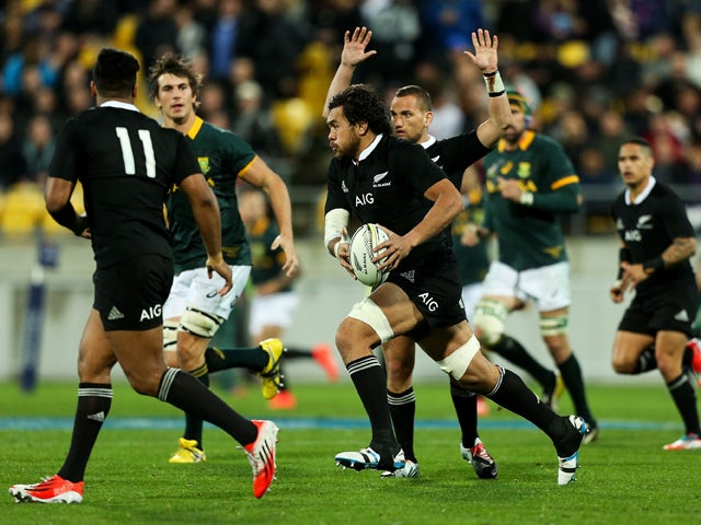 Result: All Blacks hold off South Africa