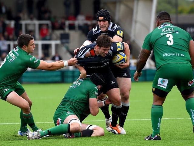 Result: Newcastle comeback falls short