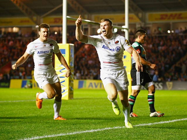 Result: Saracens narrowly beat Clermont