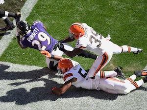 Ravens' Justin Forsett breaks arm