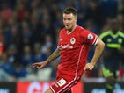 Cardiff player Anthony Pilkington in action during the Sky Bet Championship match between Cardiff City and Middlesbrough at Cardiff City Stadium on September 16, 2014