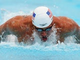 Ryan Lochte of the USA swims the Men's 100m Butterfly heats during day three of the 2014 Pan Pacific Championships at Gold Coast Aquatics on August 23, 2014