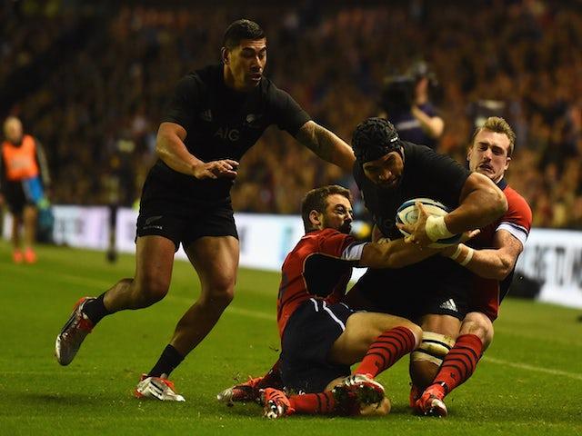 Result: Spirited Scotland fall to All Blacks