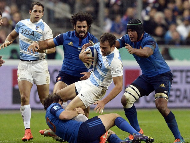 Result: France fall to Argentina defeat