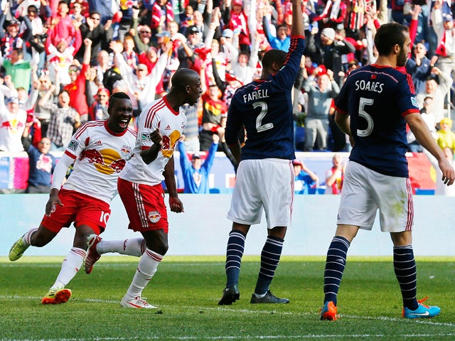 Result: Red Bulls cruise past Revolution