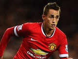 Adnan Januzaj in action for Manchester United on October 20, 2014