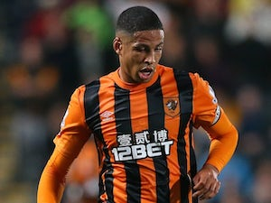Curtis Davies for Hull on September 15, 2014