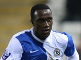 Jordan Slew of Blackburn Rovers U21 during the Barclays U21 Premier League match against Man Utd on December 2, 2013