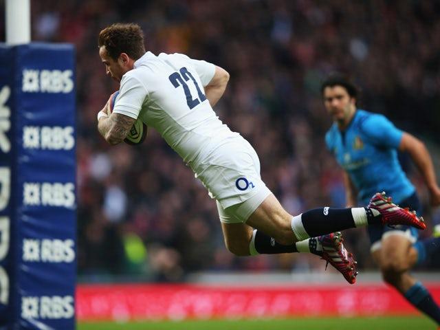 Result: England thrash sorry Barbarians