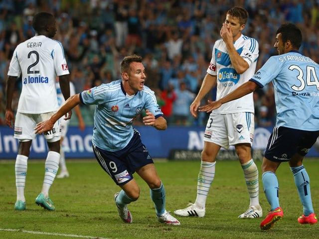 Result: Sydney, Melbourne share six goals