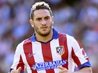 Koke for Atletico Madrid on October 4, 2014