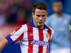 Saul Niguez for Atletico Madrid on October 22, 2014