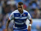 Danny Williams of Reading during the Sky Bet Championship match between Reading and Bolton Wanderers at the Madejski Stadium on December 6, 2014