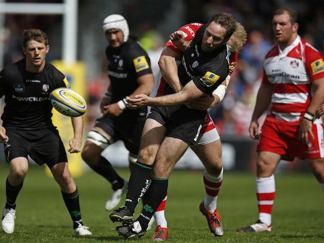 Result: Fourteen-man Gloucester beat Exiles