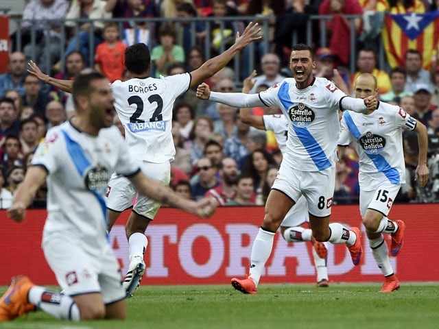 Result: Deportivo achieve survival with Barca fightback