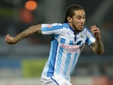 Sean Scannell of Huddersfield Town during the Sky Bet Championship between Huddersfield Town and Norwich City at John Smiths Stadium on March 17, 2015