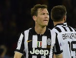 Juventus' Swiss defender Stephan Lichtsteiner looks dejected after the UEFA Champions League Final football match between Juventus and FC Barcelona at the Olympic Stadium in Berlin on June 6, 2015