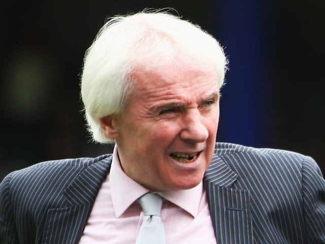 Former QPR player Stan Bowles look on after the unveiling of the new club badge during the Coca Cola Championship match between Queens Park Rangers and West Bromwich Albion at Loftus Road on May 4, 2008
