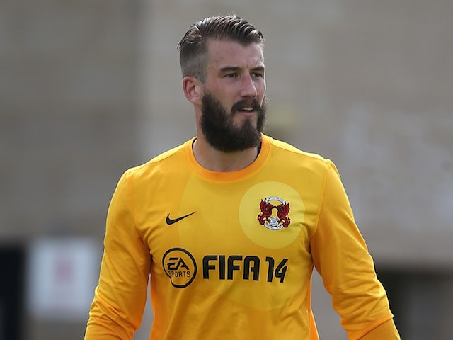 Adam Legzdins of Leyton Orient in action during the Pre-Season Friendly match between Northampton Town and Leyton Orient at Sixfields Stadium on July 26, 2014