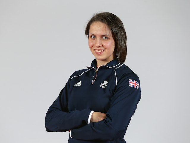 Team GB swimmer Darcy Deakin at kitting out for the European Games in May 2015