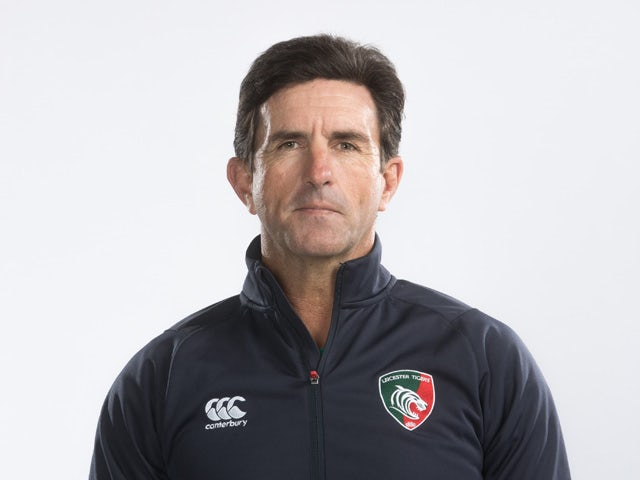 Phil Blake of Leicester Tigers poses for a portrait during the Leicester Tigers BT Photo Shoot on August 28, 2014